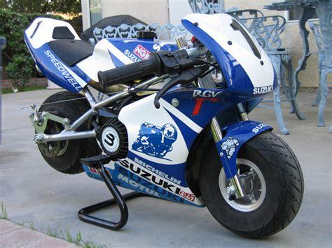 Suzuki Pocket Bike by 2004 Blata 2 5 Suzuki Gsx R Gas Pocketbike 40 Mph Mini