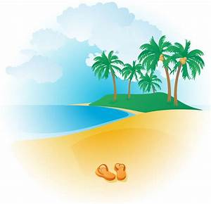 Tropical Beach Clip Art - Cliparts.co