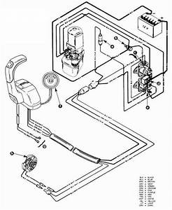 Shift Actuator Wiring Diagram For Mercruiser  Wiring Shift