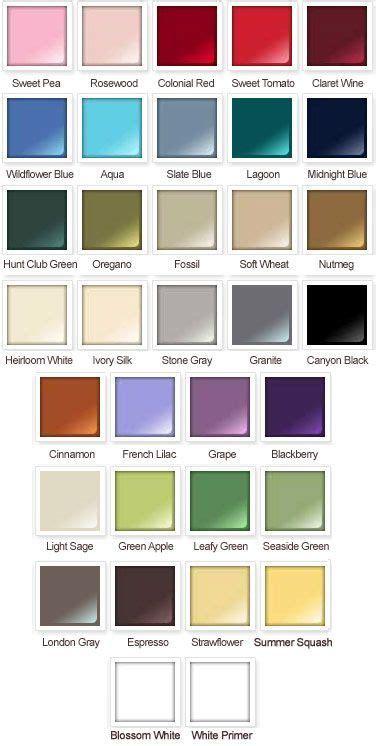 oregano color chart rustoleum american accents satin