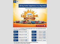 Hyundai December Delight 2014 Offer Discounts, Exchange