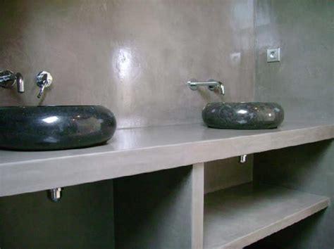 meuble salle de bain en beton cellulaire de conception de maison