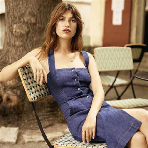 Blue Jeanne Model by Dress Jeanne Damas Fashionista Denim Dress Summer
