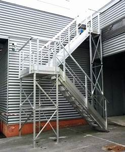 Escalier Métallique Industriel : escalier exterieur metal occasion ~ Melissatoandfro.com Idées de Décoration
