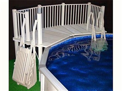 pool  deck ideas steps   ground pool decks