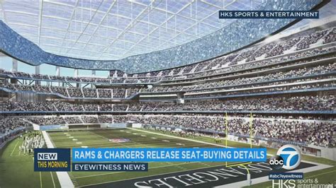 rams chargers ready  sell  seats   stadium