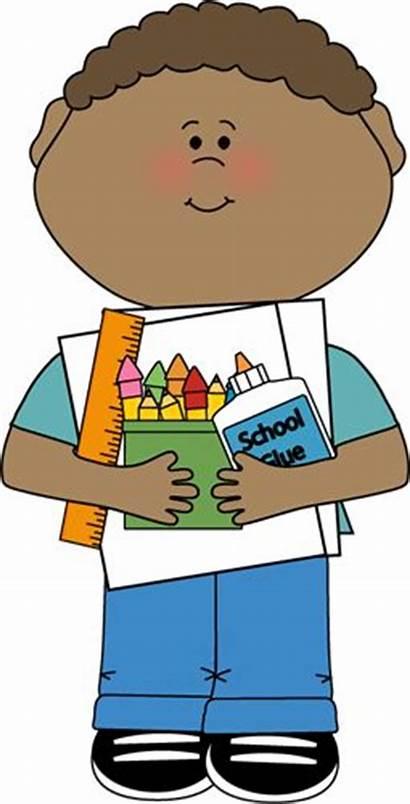 Classroom Clipart Clip Helper Librarian Monitor Boy