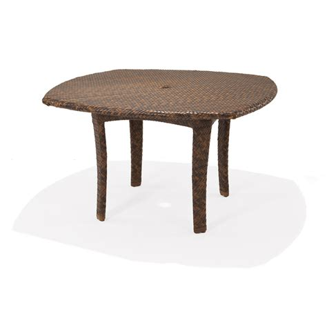 outdoor dining table with umbrella hole 48 round square dining table with umbrella hole krt