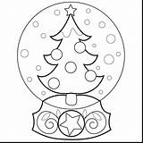 Coloring Snow Globe Globes Plow Truck Drawing Printable Template Tree Winter Seuss Hat Dr Colouring Embroidery Getdrawings Getcolorings Straccia Icolor sketch template