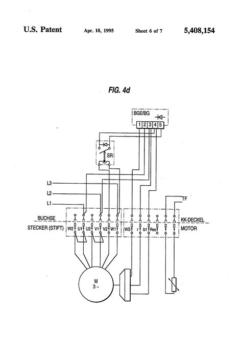 patent us5408154 motor connection block particularly for electric motors patents