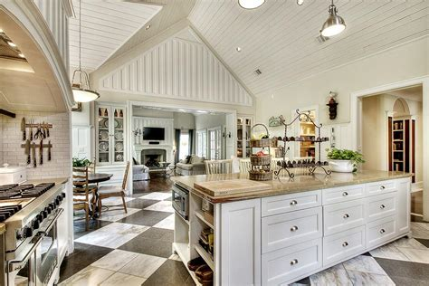 large kitchens with islands allow room for dining with a large kitchen islands 6812