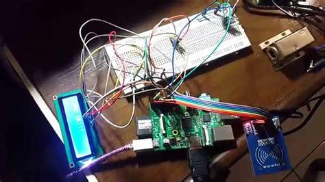 Raspberry Pi Solenoid Door Lock System Using Rfid Part1