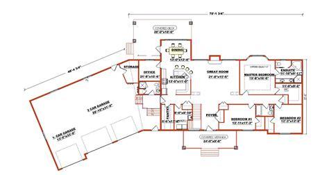 Ranch Style Bungalow House Plans - Home Deco Plans