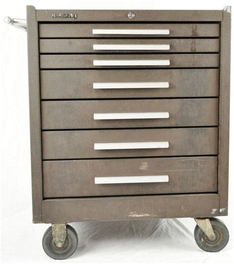 7 drawer rolling tool cabinet kennedy 277 roller cabinet tool chest box 7 drawer