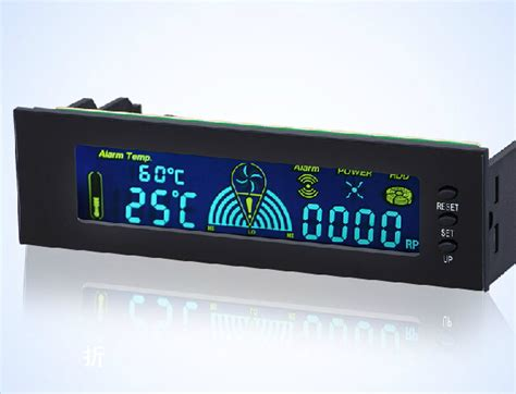 Fan Speed Controller Optical Drive Bay Lcd Display