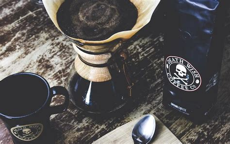 According to their website, they achieve such a strong brew from a unique combination of coffee beans and a special roasting process. Death Wish Coffee: The Highest-Caffeine Coffee - Death ...