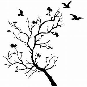 Stickers Arbre Noir : stickers porte manteau arbre oiseaux des prix 50 moins cher qu 39 en magasin ~ Teatrodelosmanantiales.com Idées de Décoration