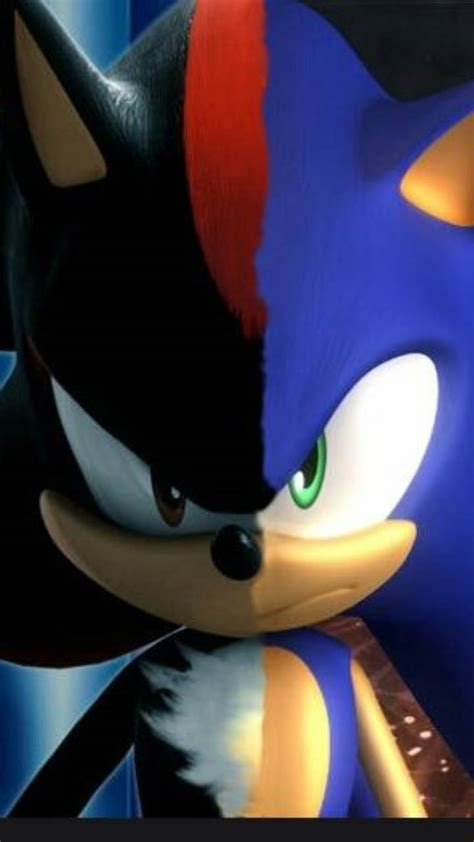 Sonic and Shadow Wallpaper
