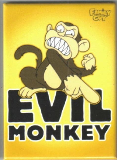 Family Monkey In The Closet by The Family Evil Monkey Pointing Magnet New Ebay
