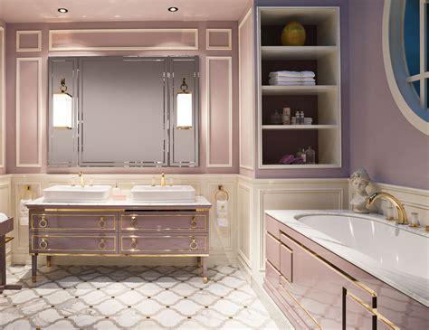 lutetia  luxury italian bathroom vanity  malva