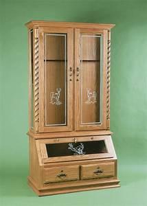 hidden wood gun cabinet plans woodwork