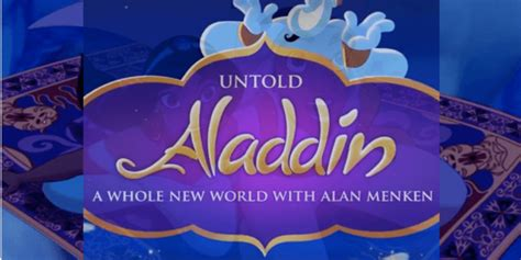 """Alan Menken Shares A Whole New Perspective of """"A Whole New"""