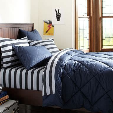 Maybe you would like to learn more about one of these? Solid Boys Comforter + Sham | Pottery Barn Teen