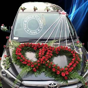 Car Decoration for Marriage Car Decoration for Wedding