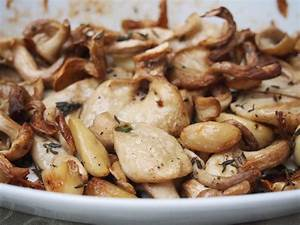 Roast Oyster Mushrooms with Garlic | Mustard With Mutton