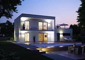 Moderne Häuser Mit Grundriss : bauhaus novum von kern haus 2 platz traumhauspreis 2012 ~ Markanthonyermac.com Haus und Dekorationen