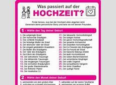 Top 50 Hochzeitsspiele Witzig & unterhaltsam