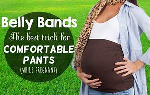 Pregnancy Belly Band  The Best Way To Wear Pants While