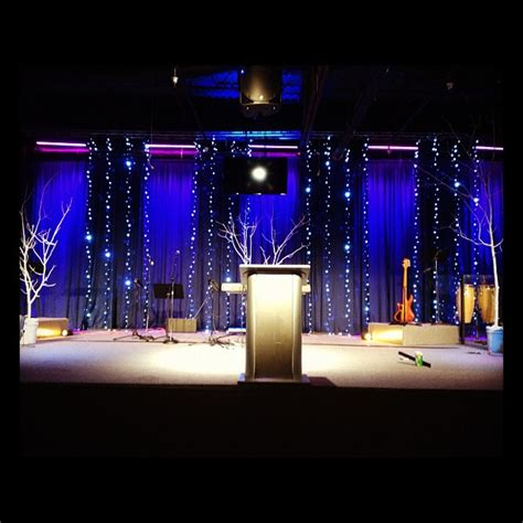 christmas lines church stage design ideas
