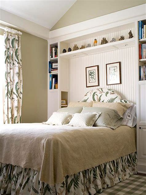 home dzine bedrooms storage ideas   headboard