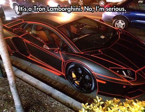 The Incredible Tron Lamborghini