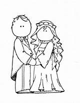 Wedding Embroidery Groom Bride Stamps Digi Clipart Coloring Pages Pattern Digital Patterns Magnolia Couple Templates Couples Cliparts Clip Copic Printable sketch template