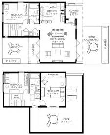 modern house floor plan contemporary small house plan