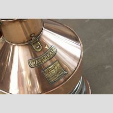 Solid Copper And Brass Masthead Lantern For Sale At 1stdibs