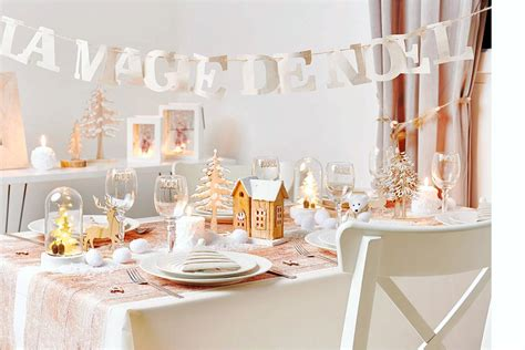 idee deco table de noel  styles  adopter