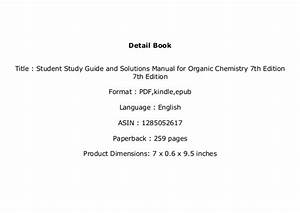Ebook   Library Student Study Guide And Solutions Manual