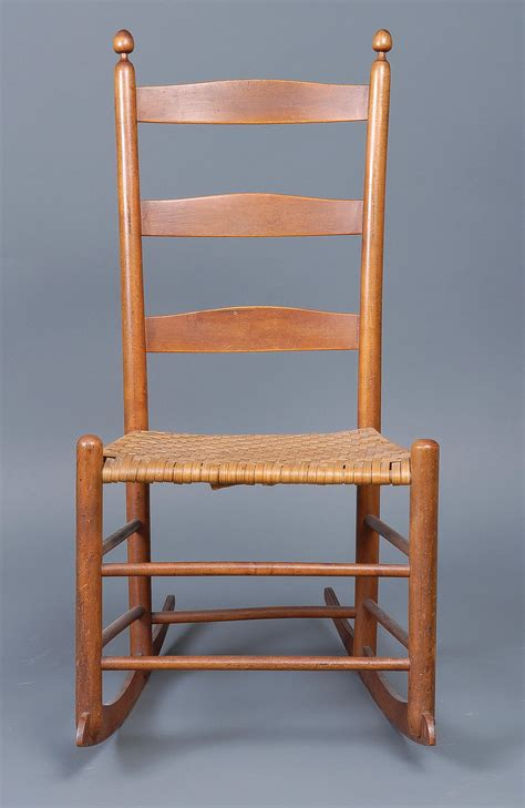 lot 37 two rocking chairs willis henry auctions inc