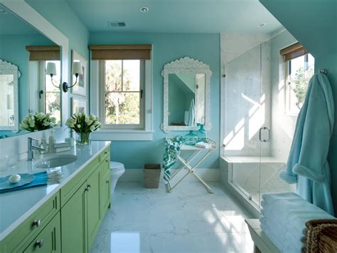 A Turquoise Wall Color Sets The Scene For Interior Design