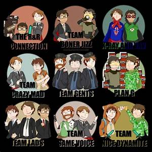 Teams of Achievement Hunter | Fake AH Crew | Pinterest ...