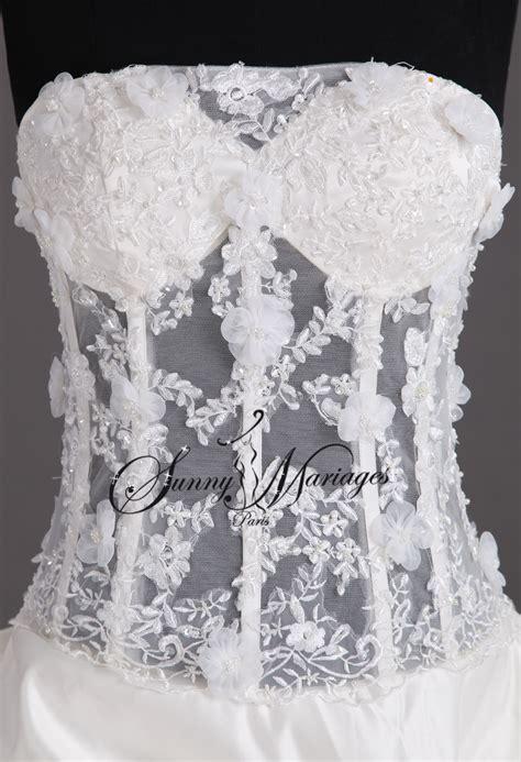 robe de chambre dentelle corset robe de mariee corset