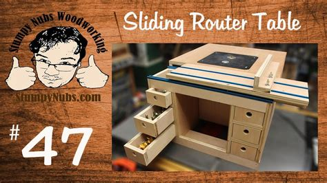 Snw47 Build Your Own Festool Cms Style Homemade Router