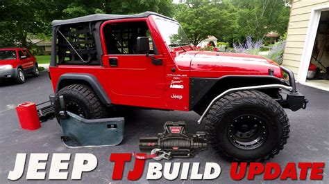 jeep tj build update whats  youtube