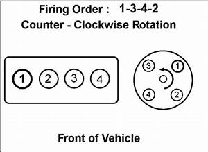 Firing Order  Four Cylinder Front Wheel Drive Automatic 103 000