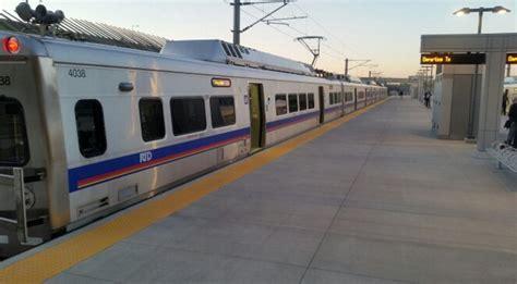 light rail to airport denver denver rtd s commuter to denver international