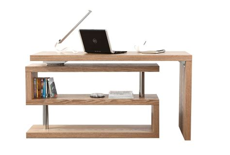 bureau contemporain design bureau design bois amovible max miliboo