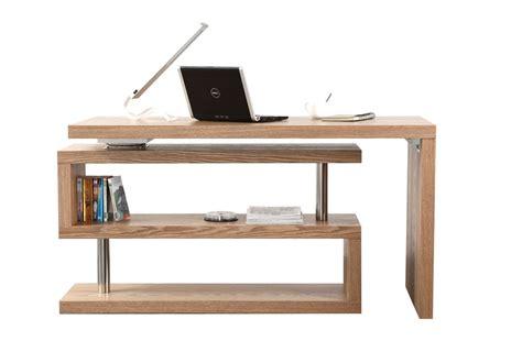 bureau pivotant bureau design bois amovible max miliboo